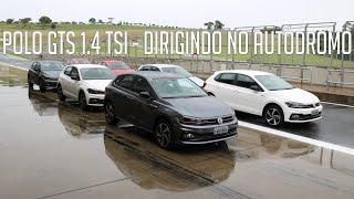 Novo Polo GTS 1.4 TSI - Dirigindo no autódromo
