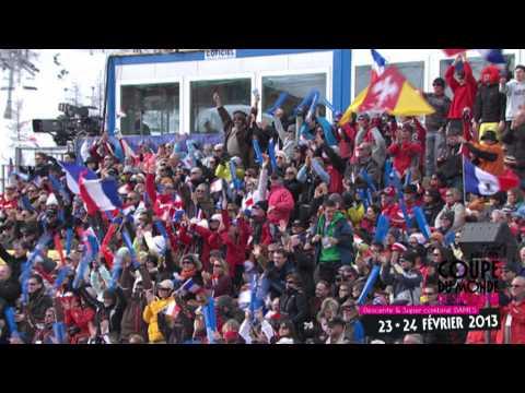 Teaser Méribel Audi FIS Coupe du Monde Ski Alpin Dames