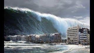 Цунами в Японии 2011 год. Шокирующее Видео. Tsunami in Japan 2011