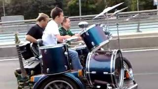 Бременские музыканты нашего времени! На мотоцикле.