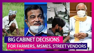 Better Prices For Farmers, Boost For MSMEs, Street Vendors In Big Cabinet Decisions - Download this Video in MP3, M4A, WEBM, MP4, 3GP