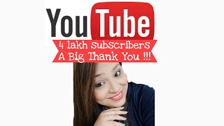 Celebrating 4 Lakh Subscribers | Thank You