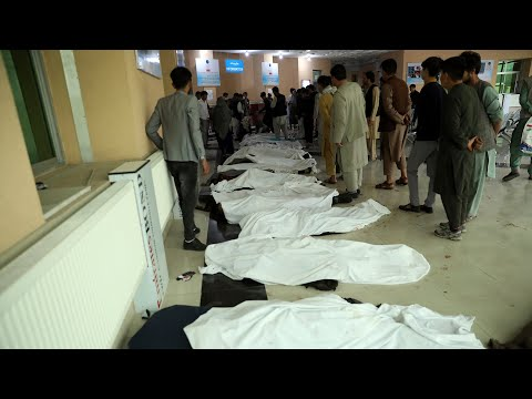 Dozens Killed After Bomb Blast Outside Kabul High School | NBC News