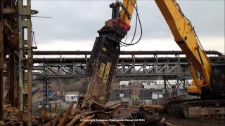 preview picture of video 'ITALMEK IC45 Dedicated steel shear at TATA Chemicals Northwich'