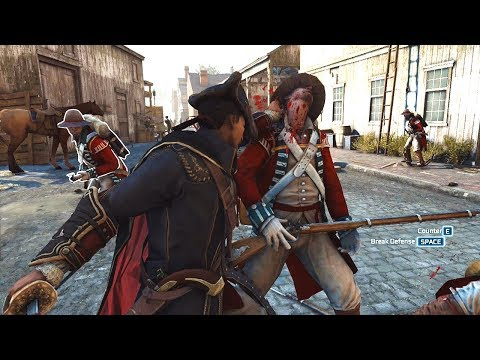 Assassin's Creed 3: Brutal Combat Gameplay – Haytham Kenway's Rampage [PC RTX 2080]