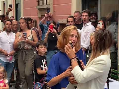 Grande festa a Varese per Federica Cesarini e Valentina Rodini
