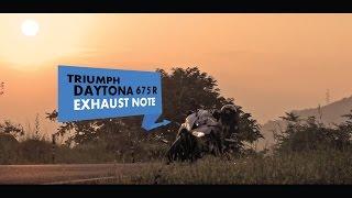 Triumph Daytona 675R Arrow Exhaust note | PowerDrift