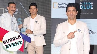 Farhan Akhtar Becomes Brand Ambassador For National Geographic's Mission Blue Initiative