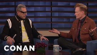 Jeff Goldblum Critiques Conan's New Look