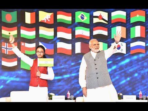 PM Shri Narendra Modi inaugurates the 16th International Energy Forum ministerial meeting in Delhi. Apr 11, 2018