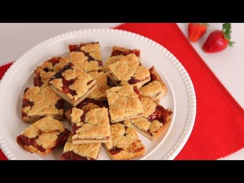 Strawberry Bars Recipe – Laura Vitale – Laura in the Kitchen Episode 533