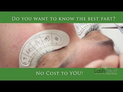 Free Eyelash Extension Training Courses by Lash Stuff - YouTube