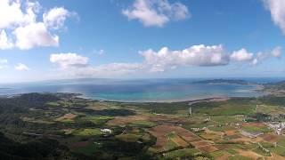 沖縄の美しい風景を残したいバンナ~名蔵湾@八重山空中さんぽ2014・11・23