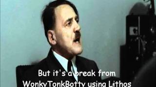 Hitler is informed his subtitles are in Comic Sans MS
