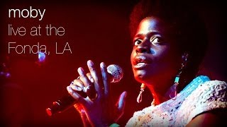 Gambar cover Moby - Flower (Live at The Fonda, L.A.)