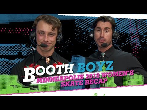 Booth Boyz: Women's Skateboard Recap - XG Minneapolis 2018 | World of X Games
