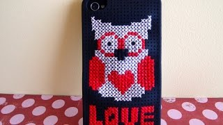 Cross stitch case Iphone - Funda punto de cruz iPhone