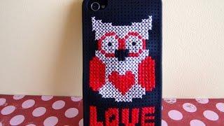Cross stitch case Iphone - Funda punto de cruz iPhone