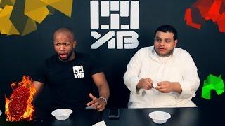 The Hottest chicken wings challenge !! تحدي أحر اجنحة الدجاج مع عبدالله