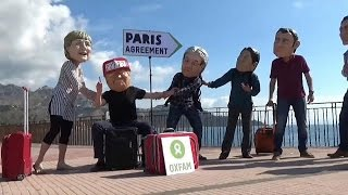 Protesters kept away from G7 but message getting across
