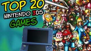 Top 20 3DS Games | byJannik