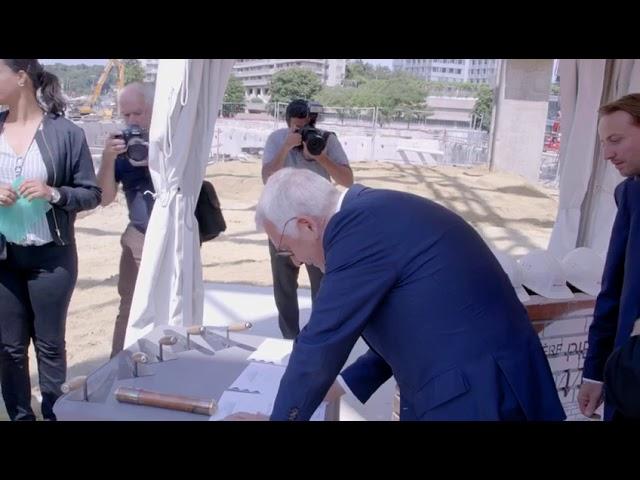 Top départ pour le projet Métal 57, le futur siège de BNP Paribas Real Estate !