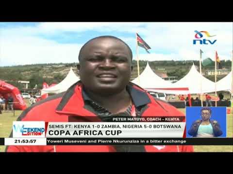 Copa Africa cup: Semis Ft: Kenya 1-0 Zambia, Nigeria 5-0 Botswana