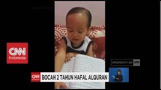 Masya Allah, Bocah 2 Tahun Hafal Alquran
