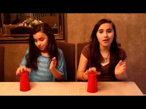 When I'm Gone - Anna Kendrick (Cups - Pitch Perfect) Cover By Erica and Emily Mourad
