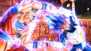 UI Goku & SSBE Vegeta Fusion Dance for the First Time In Dragon Ball Xenoverse 2 Mods