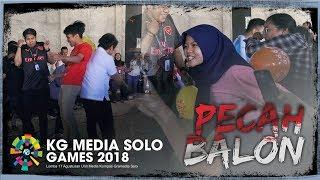Lomba Pecah Balon KG Media Solo Ikut Semarakkan HUT ke-73 Republik Indonesia