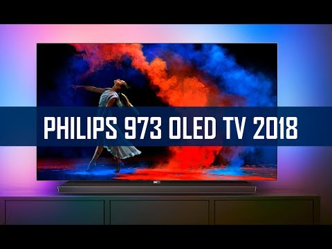 PHILIPS OLED 973 - 2018 UHD TV mit Ambilight im Hands-On