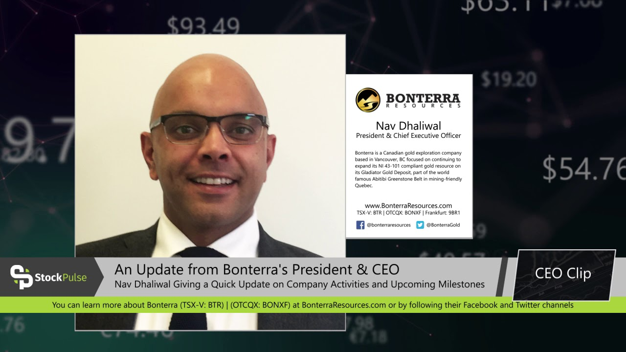 Bonterra Resources Interview with President & CEO Nav Dhaliwal