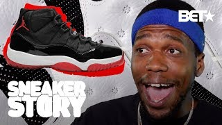 Curren$y's Mom Surprised Him w/the Black and Red Air Jordan 11 (at school!) | Sneaker Story
