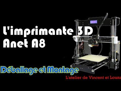 Test de l\'imprimante 3D Anet A8