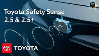 Toyota Safety Sense 2.5 and 2.5+ Overview