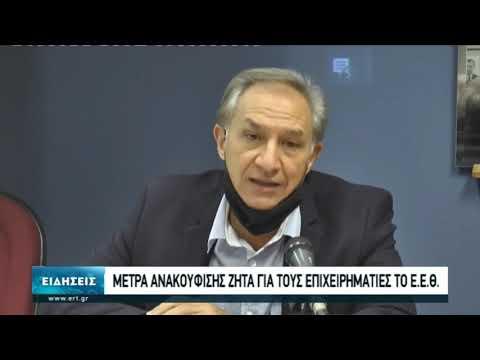 Μέτρα ενίσχυσης ζητά το Επαγγελματικό Επιμελητήριο Θεσσαλονίκης | 06/11/2020 | ΕΡΤ