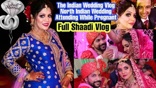 Indian Wedding Vlog While Pregnant Brother's Wedding Video SuperPrincessjo