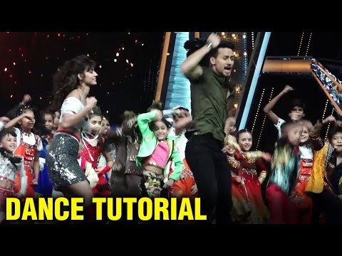 Tiger Shroff Teaches Disha Patani Dance Step On DA