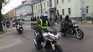 Rozpoczęcie sezonu motocyklowego Bielsk Podlaski 2019