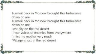 Warren Zevon - Turbulence Lyrics