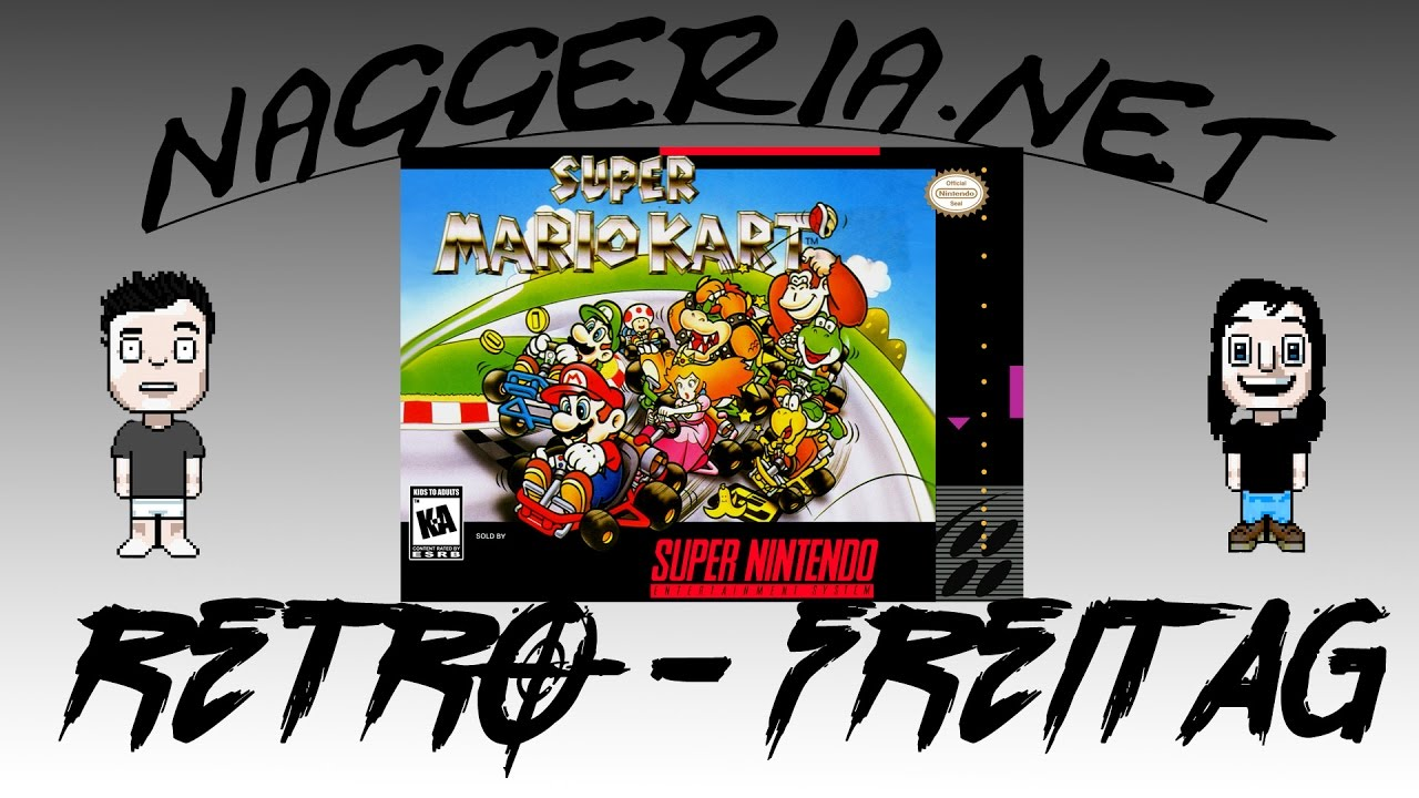 [Retro-Freitag] Super Mario Kart (SNES)