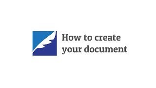 How to create your document
