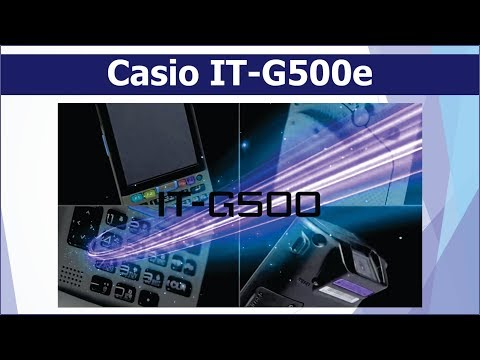 Casio IT-G500e