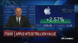 Here's the 'trojan horse'  Kevin O'Leary says Apple needs to worry about