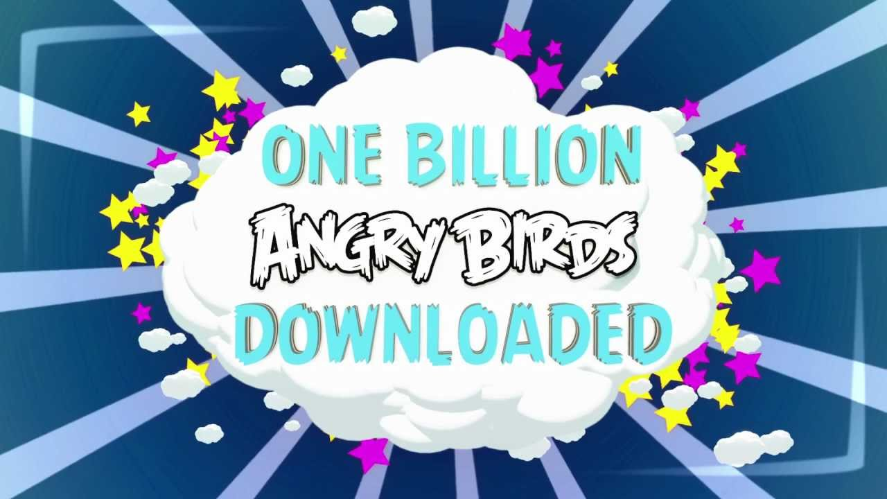 Angry Birds Breaks The One Billion Download Mark