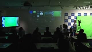 """世界最小の映像制作・配信システム""""TriCaster Mini""""体験セミナー"""