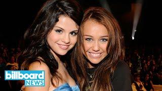 Selena Gomez Responds to Miley Cyrus' '7 Things' Throwback | Billboard News