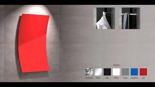 Дизайнерские радиаторы «Волна» M-605/0,60 цветные от компании ПК «АНДИ Групп» - видео