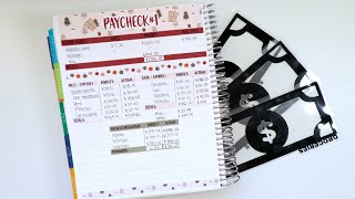 How I Reconcile A Paycheck Budget | Getting Ready for Paycheck 2
